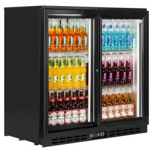 Double Door Bottle Cooler Model USS 748DIKL